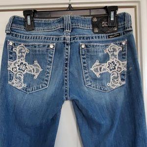 Miss me jeans size 29x34 JP5016-2L bootcut